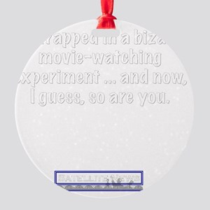 trapped Round Ornament