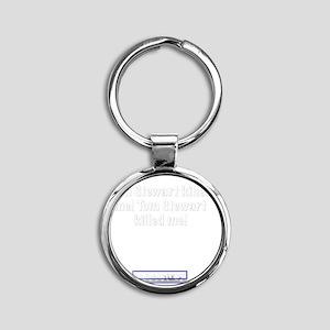 tomstewart Round Keychain