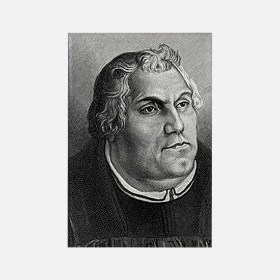 Martin Luther Keychain Rectangle Magnet