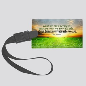 Valuable and Decide Quote on Lar Large Luggage Tag