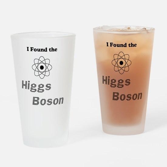 IFoundTheHiggsBosonBlack Drinking Glass