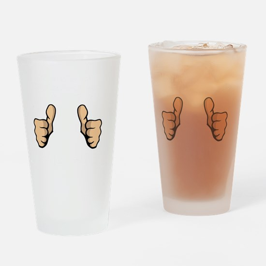 This Guy Beer White Drinking Glass