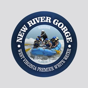 "New River Gorge (rafting) 3.5"" Button"