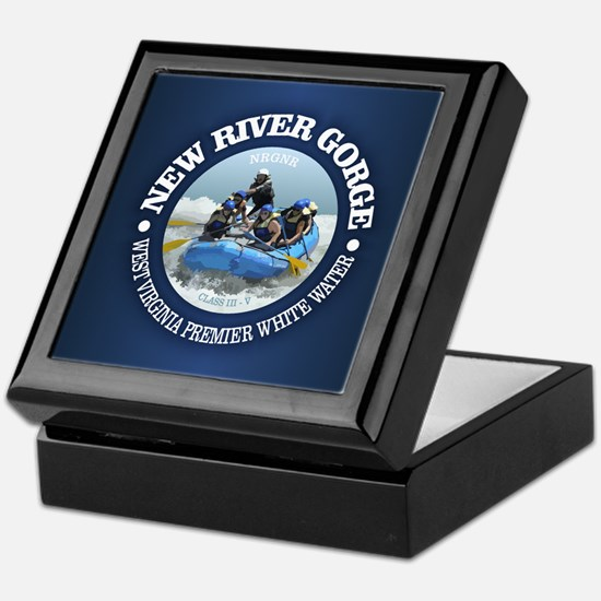 New River Gorge (rafting) Keepsake Box
