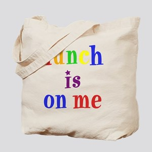 8x8-lunchisonme Tote Bag