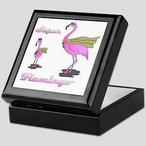 Super Flamingo01 Keepsake Box