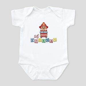 Lil' Fireman Infant Bodysuit