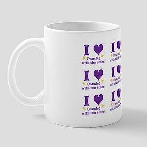 i heart dwts (full) shoulder bag Mug