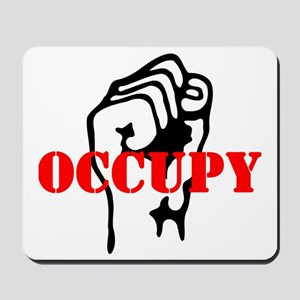 Occupy-hat2 Mousepad