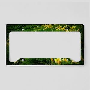motherisflower1124 License Plate Holder