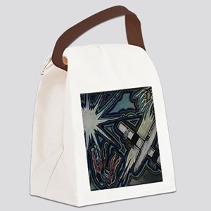 Friday Afternoon. Canvas Lunch Bag