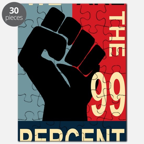 Poster large 23x35_print_Occupy Wall Street Puzzle