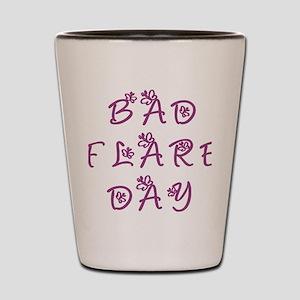 Bad Flare Day Shot Glass