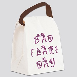 Bad Flare Day Canvas Lunch Bag