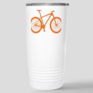 BOMB_orange Stainless Steel Travel Mug
