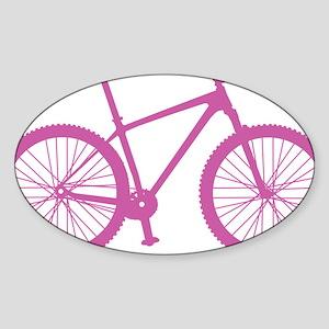 BOMB_pink Sticker (Oval)