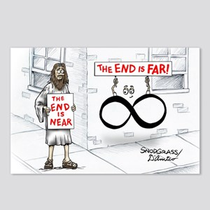 Pi_30 End Not Near (10x10 Postcards (Package of 8)