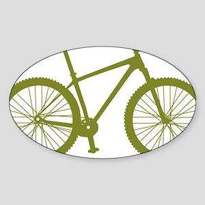 BOMB_OLIVE Sticker (Oval)
