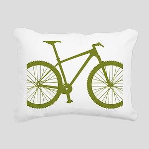 BOMB_OLIVE Rectangular Canvas Pillow