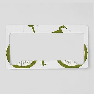 BOMB_OLIVE License Plate Holder