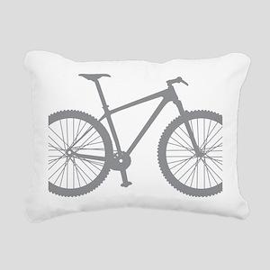 BOMB_gray Rectangular Canvas Pillow