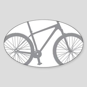 BOMB_gray Sticker (Oval)