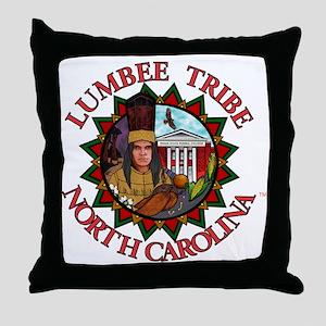 LumbeeSealdonecafe Throw Pillow