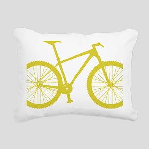 BOMB_yellow Rectangular Canvas Pillow
