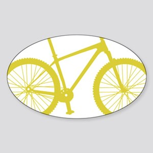 BOMB_yellow Sticker (Oval)