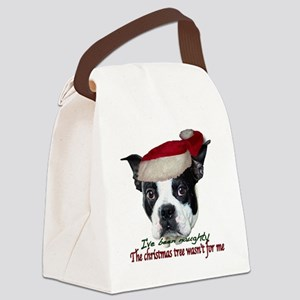 Naughty dog Canvas Lunch Bag