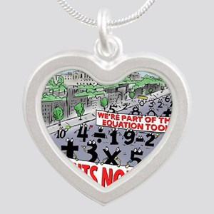 Pi_74 Equal Rights (20x16 Co Silver Heart Necklace