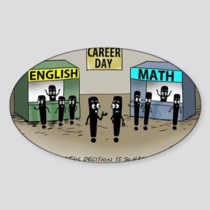 Pi_75 Career Day (7.5x5.5 Color) Sticker (Oval)