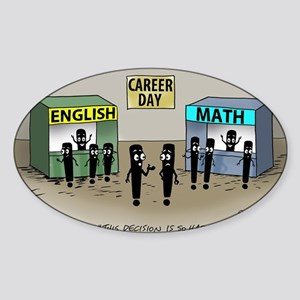 Pi_75 Career Day (20x16 Color) Sticker (Oval)