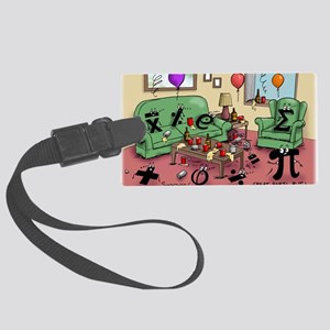 Pi_77 AfterMATH (10x10 Color) Large Luggage Tag