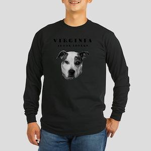 VA4LoversNew2 Long Sleeve Dark T-Shirt
