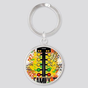 my family tree Round Keychain