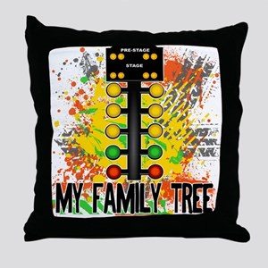 my family tree Throw Pillow