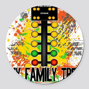 my family tree Round Car Magnet