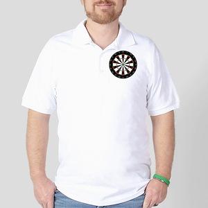 dart board Golf Shirt