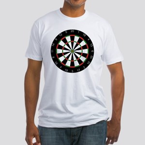 dart board Fitted T-Shirt