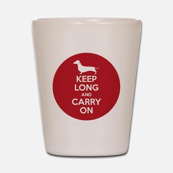 keep_calm_round Shot Glass