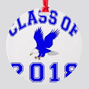 CO2018 Eagle Blue Round Ornament