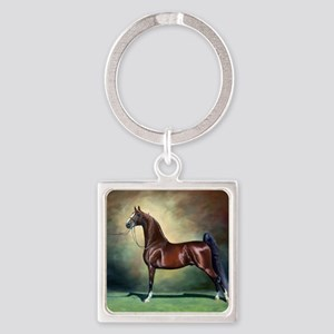 Ideal Proportions Square Keychain