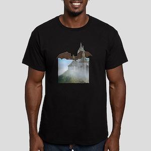 hell_dragoncastle_tshi Men's Fitted T-Shirt (dark)