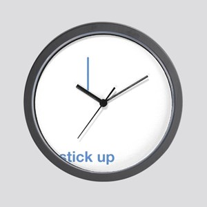 stick up wh Wall Clock