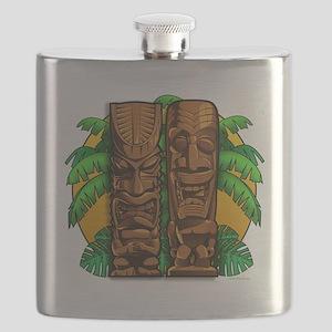 Tiki Gods Flask