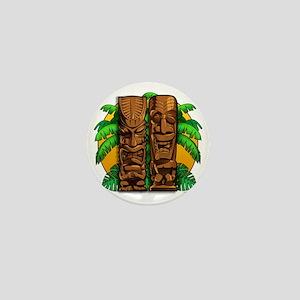 Tiki Gods Mini Button