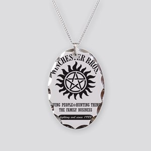 winchester_bros_CP2 Necklace Oval Charm