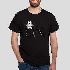 LVN-intial-femBL Dark T-Shirt