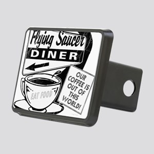 Flying Saucer Diner Rectangular Hitch Cover